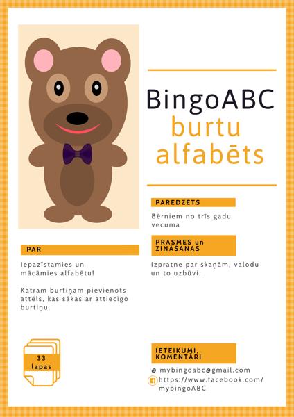 BingoABC burtu alfabēts