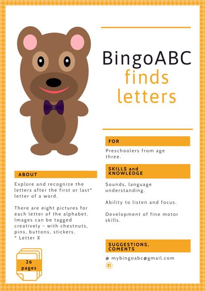 BingoABC finds letters